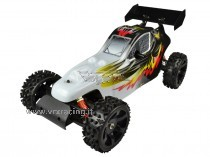 SUPER COCODRILE 2 SPEED Buggy 1/5 Off road Motore a Scoppio 30cc Radio 2.4GHz 2WD RTR VRX