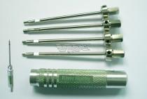 Set Cacciaviti esagonali (1,5mm-2,00mm-2,5mm-3,00mm)
