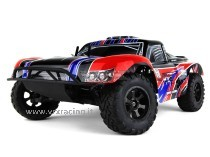 Short Course Truck 1/10 Off road con Motore a Scoppio GO.18 a 2 Marce - Radio 2.4GHz - 4 WD - RTR - RH1009 DT5 N.2 VRX