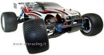 Truggy 1/8 Off Road con Motore a Scoppio GO 28  Radio 2.4 GHz 4WD  RTR  VRX