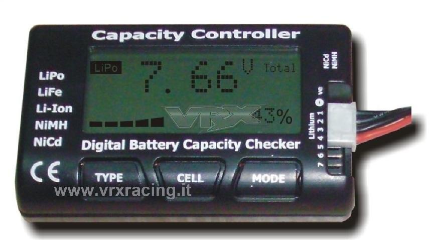 Cellmeter 7 Tester Digitale Per Batterie Lipo Life Li