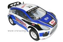 Flash-Rally XR4 N1 1:10 On-Road a scoppio Go18 a 1 marcia Radio 2.4 FlySky 4WD RTR RH10129 VRX