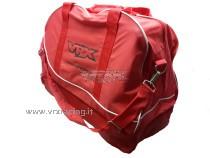 Borsa (Borsone) in tessuto rosso porta modelli VRX