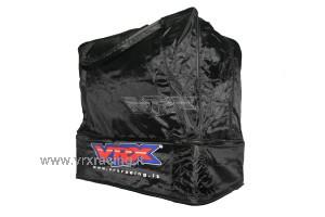 borsa borsone nera doppio fondo rigido vrx trasporto modelli rc