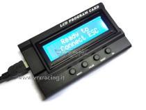 Programm Card LCD per la programmazione di esc-regolatori Rocket con funzioni Turbo