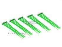 Fascette in plastica colore Verde 25pz VRX