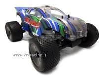 Truggy Blade V-Max 1/10 Off road con Motore a scoppio GO.18 a 2 Marce Radio 2.4 GHz 4WD RTR VRX