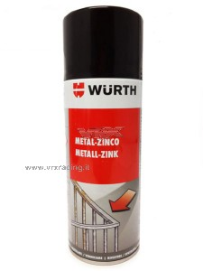 Wurth per zincatura metalli bomboletta Spray professionale 400ml