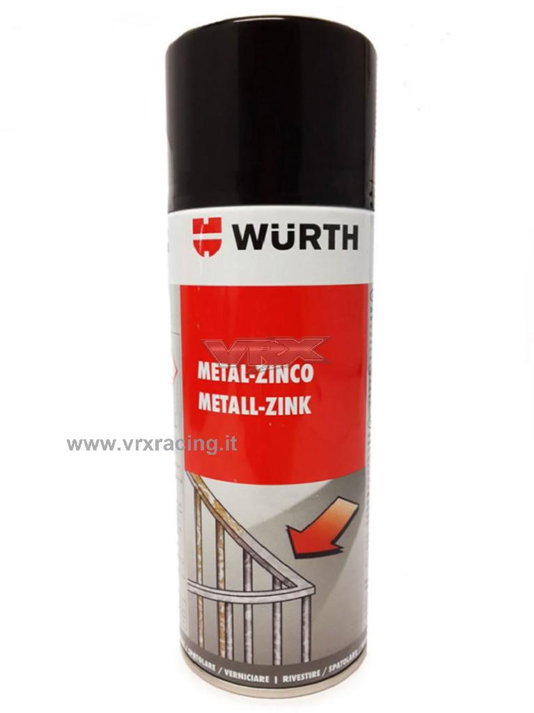 Wurth per zincatura metalli bomboletta Spray professionale 400ml