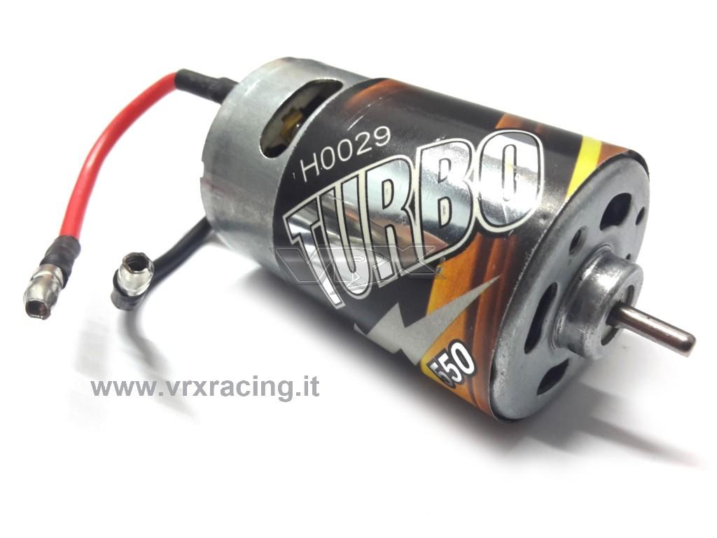 12T Motore in Metallo Spazzolato Surpass 550 per Modello 1//10 RC VGEBY1 Modello RC