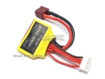 Adattatore Connettore bilanciatore Twins Per Batterie Lipo 4S 2x2S G.T,Power