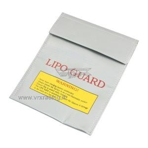 Borsa piatta protettiva ignifuga per batteria lipo in fibra di vetro 225x180mm