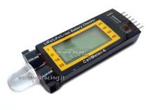 CellMeter-6 rilevatore di tensione ad alta precisione con display ed avvisatore acustico controllato da un microprocessore