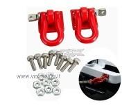 Mini ganci traino in metallo accessorio per modelli Rock Crawler