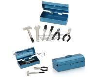 Mini scatola con attrezzi in metallo accessori per modelli Rock Crawler 6 pezzi