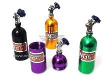 Mini bottiglia protossido di azoto in alluminio accessori per modelli Rock Crawler 1 Pz