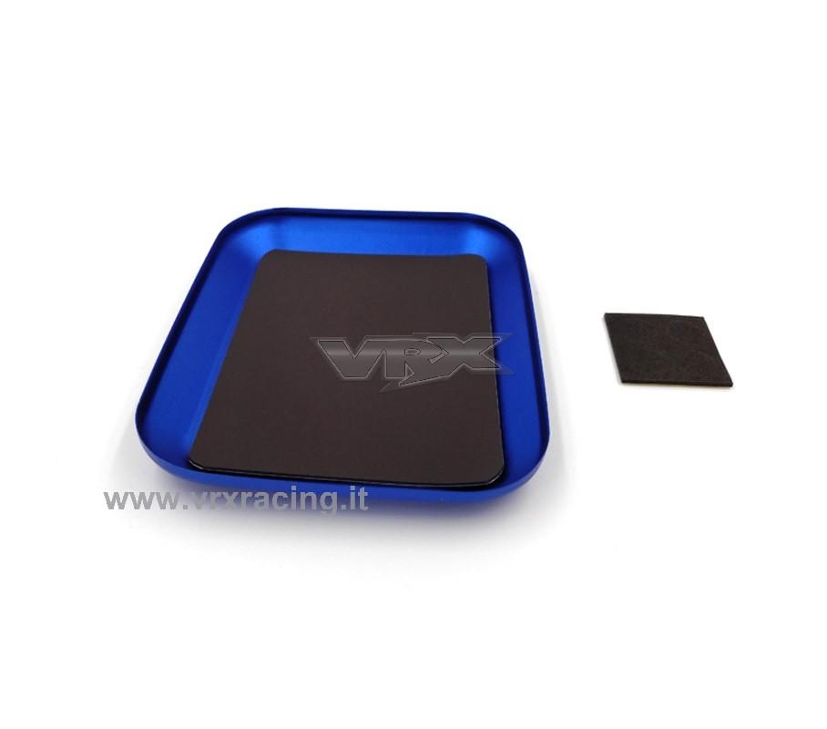 Vaschetta magnetica in alluminio porta viti e minuteria RC
