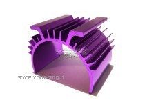 Dissipatore di calore lamellare in metallo viola modelli 1/10 vrx
