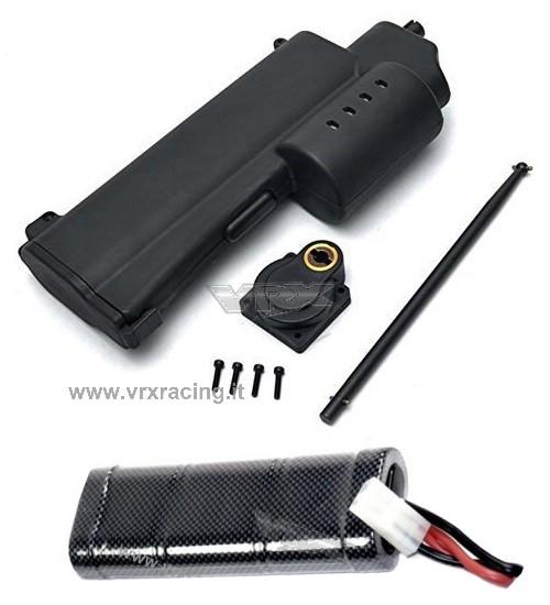 Rotostart Avviamento elettrico per modelli a scoppio 1/10 1/8 compreso di batteria 1800mAh 7.2V