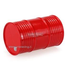 Contenitore rosso serbatoio olio/gas in scala 1/10 vrx